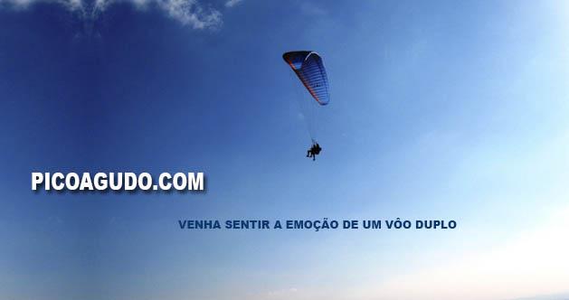 Venha voar no Pico Agudo