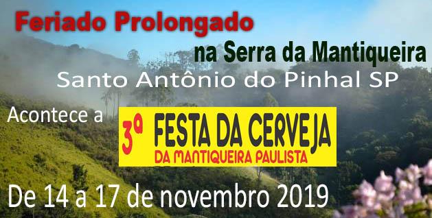 Feriado em Santo Antonio tem Festa da Cerveja 2019